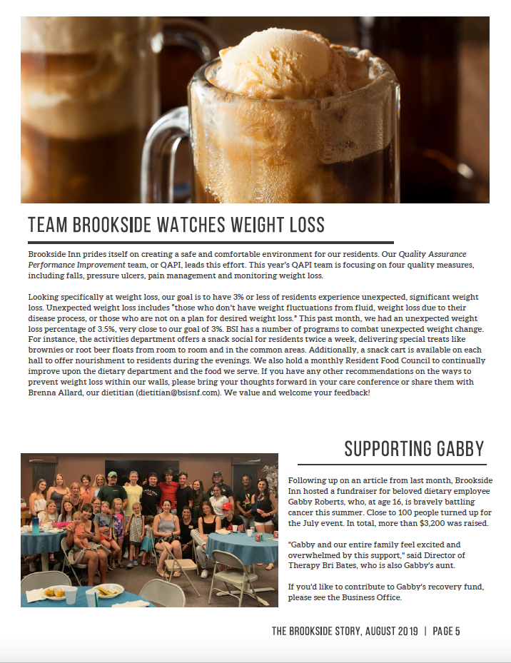 Brookside Inn August Newsletter Page 5