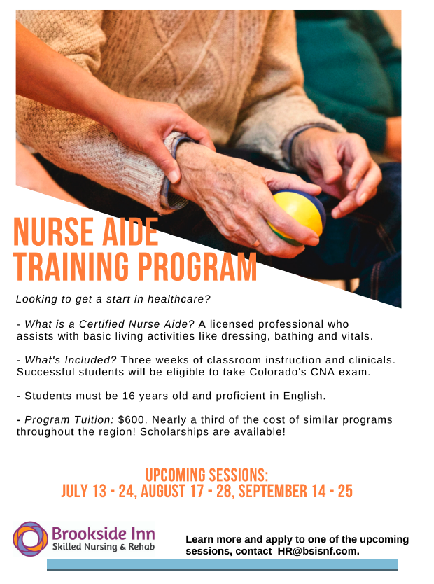 Nurse Training Program For July, August And September. Call Us For More Information