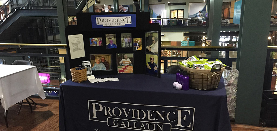Providence Gallatin booth