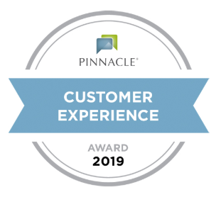 Pinnacle Customer Experience Award for 2019