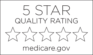 5-star quality rating from Medicare.gov