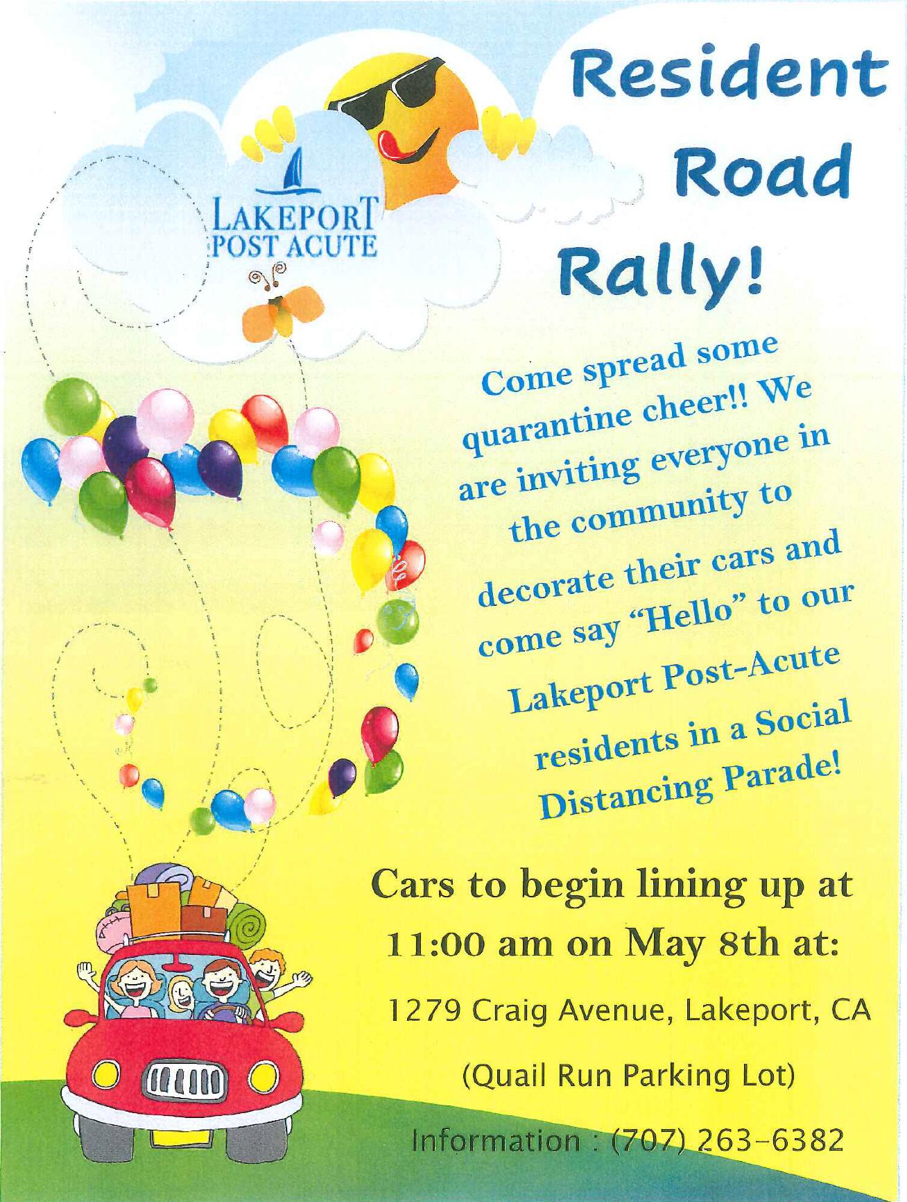 Road Rally May 8th