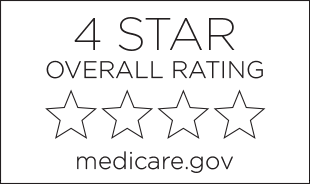 4-star overall rating from Medicare.gov