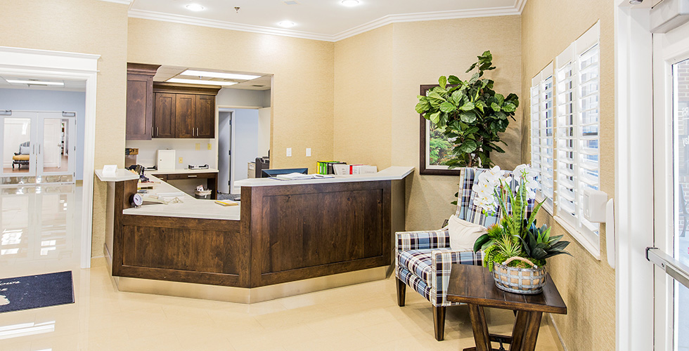 Pine Meadows nurses station
