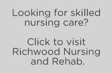 Looking for skilled nursing? Click to visit The Oaks Assisted Living button