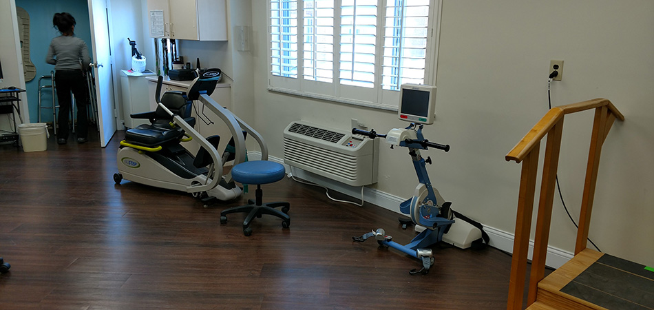 Providence Anderson exercise therapy room