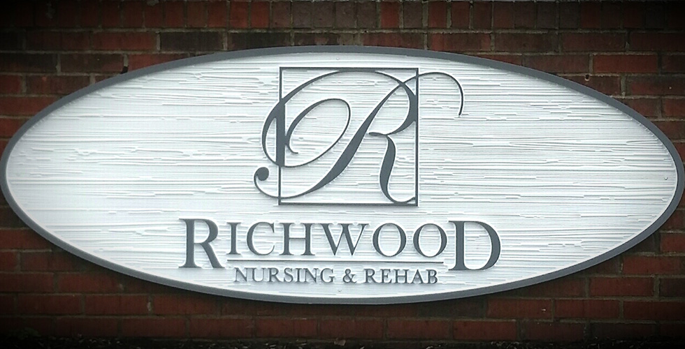 Richwood Nursing & Rehab sign