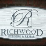 Richwood Nursing and Rehab wooden signs