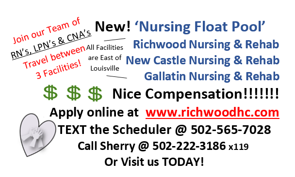 Apply today for our floating nurse job with great compensation!