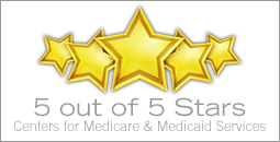 5-star CMS rated building
