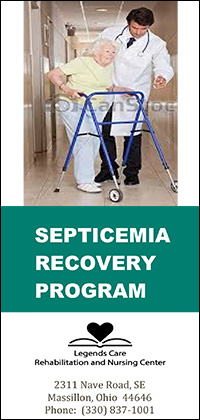 Septicemia Recovery Program brochure cover