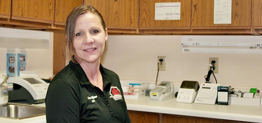 Platte Valley Staff Member Lisa Bifano