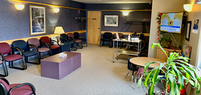 Platte Valley Clinic lobby area