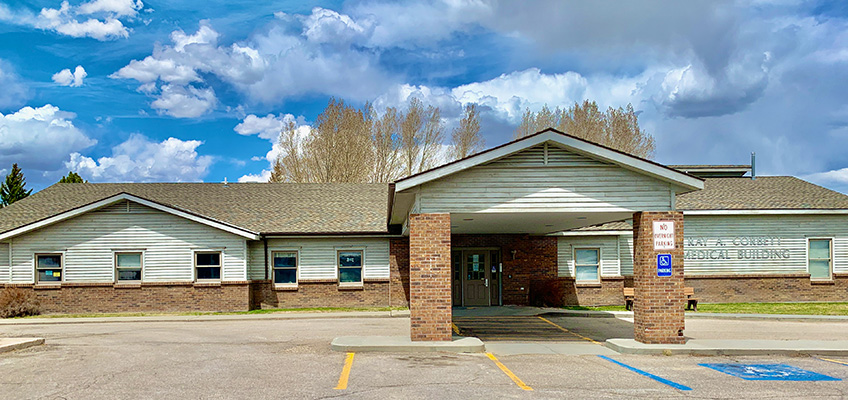 Platte Valley Clinic front outside