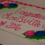congratulatory cake