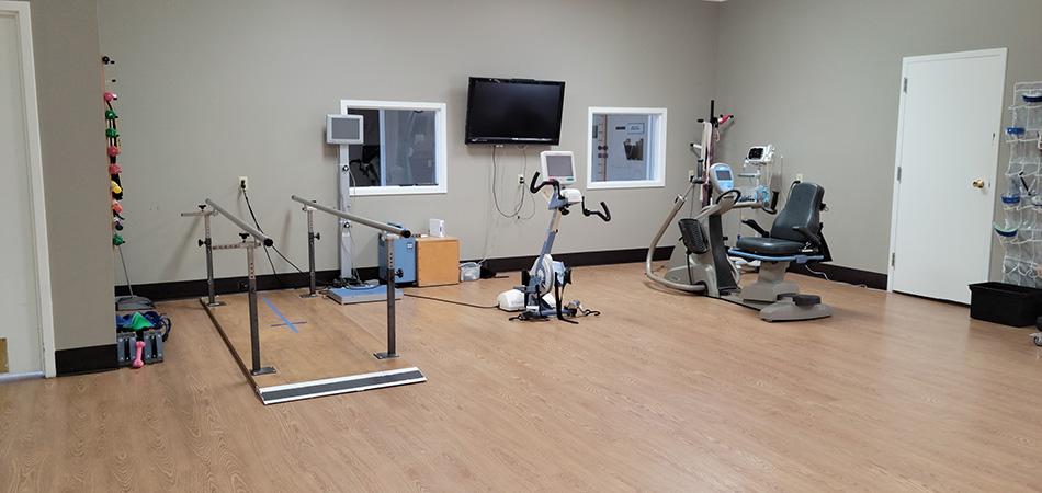 The Shores Post-Acute rehab gym