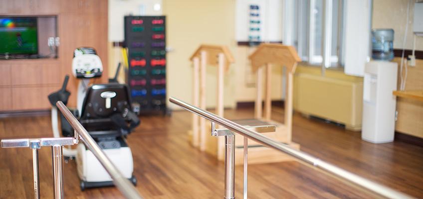 rehabilitation therapy room