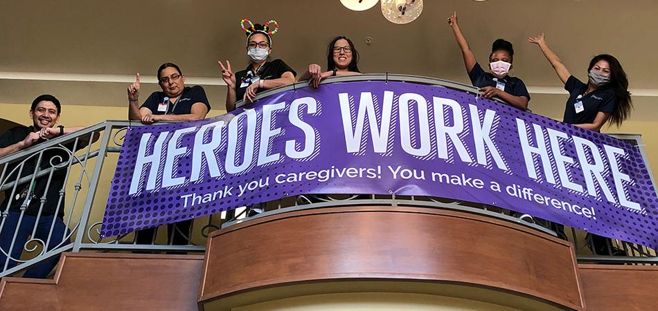 Heroes Work Here Poster