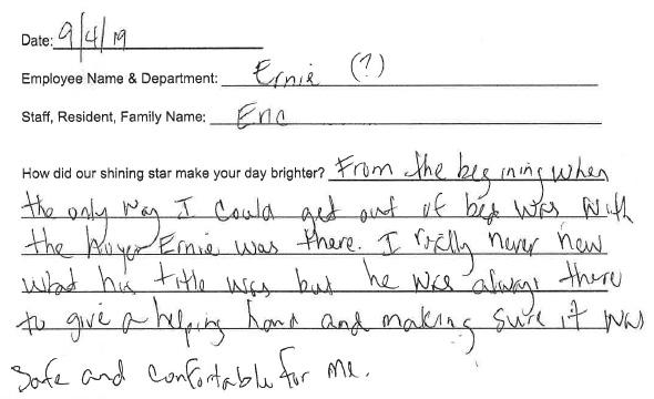 Testimonial from Eric