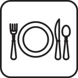 plate and fork icon