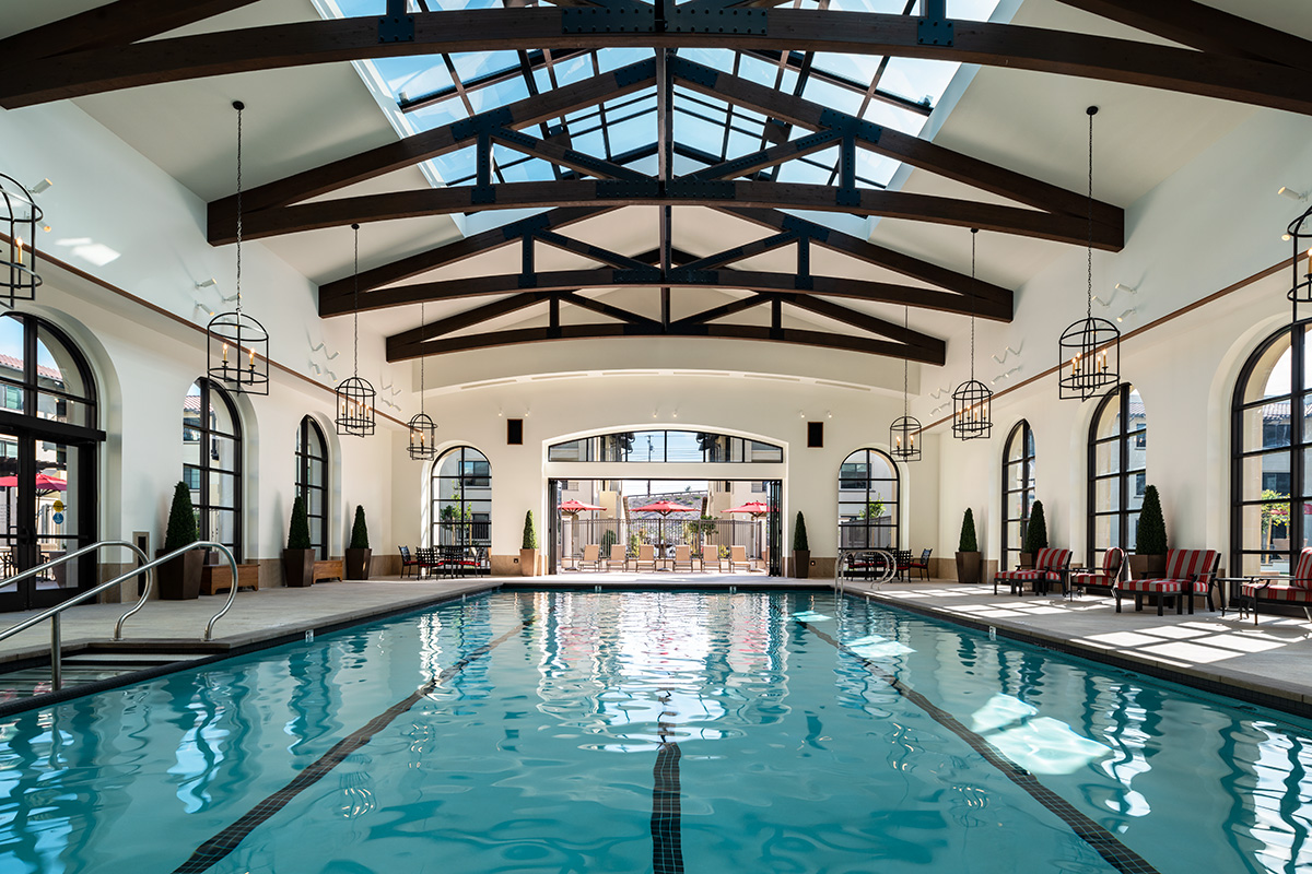 Pool in facility