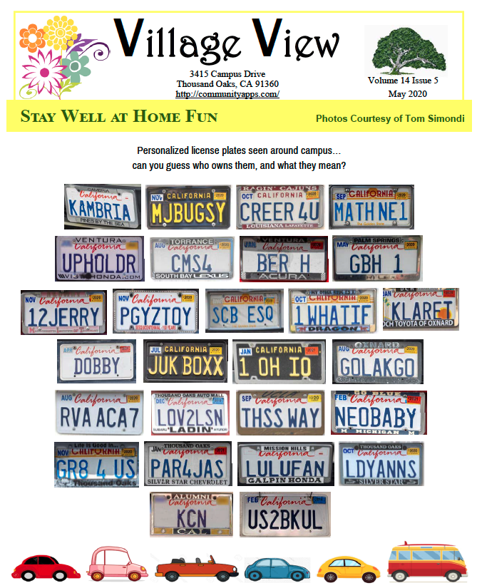 License Plate Guessing Game Graphics