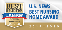 US News best nursing home award 2019-2020