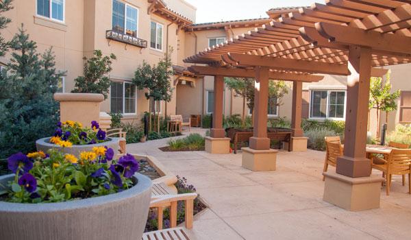 patio of creekview