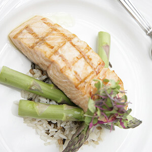 meal of salmon