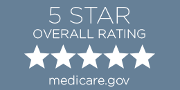 Medicare 5 star overall rating button