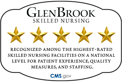 Glenbrook 5-star Medicare rating badge