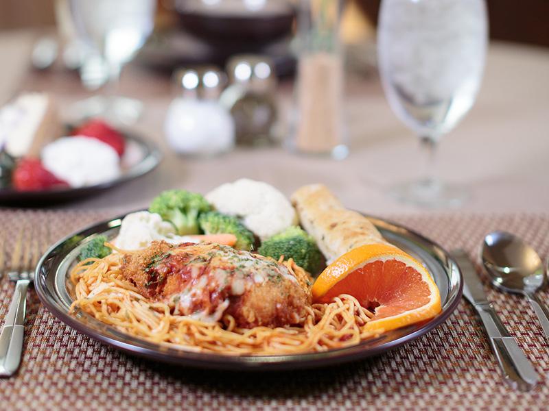 Canyon Vista dining cuisine