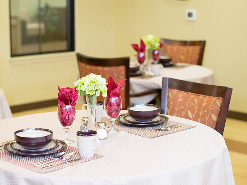 Canyon vista dinning room table