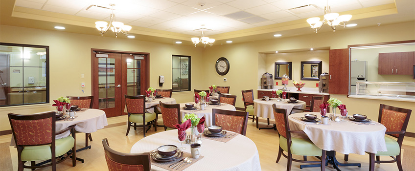 Canyon vista dinning room