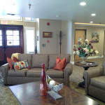 RHF Gold Country waiting area with comfortable couches