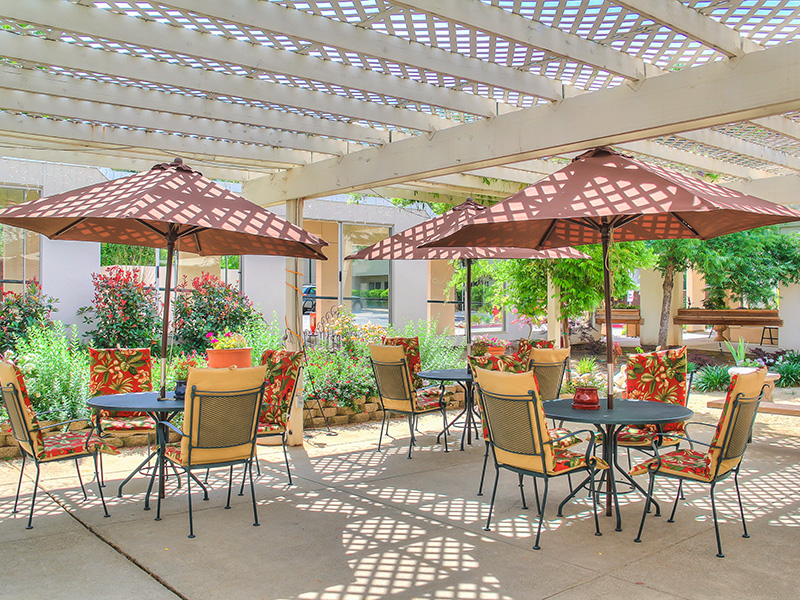Covered Patio at Gold Country