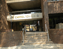 Capitol Towers front entrance