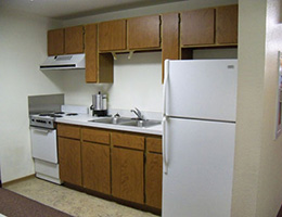 Centennial Manor resident kitchen