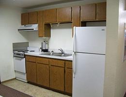 Centennial Manor resident kitchen