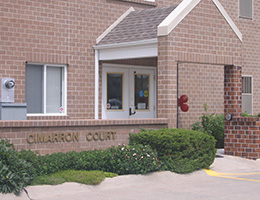 cimarron count front office building