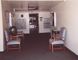 The Concord waiting area