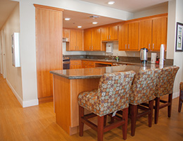 Congregational Towers resident kitchen