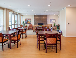 Congregational Towers dining room