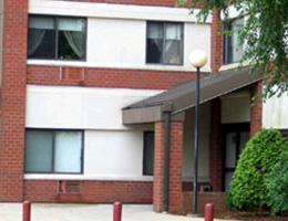 Douglas front entrance