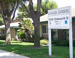 Granada Gardens sign