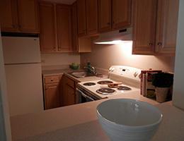 Kings Grant resident kitchen
