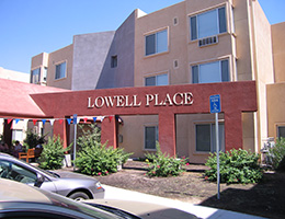 Lowell Place sign