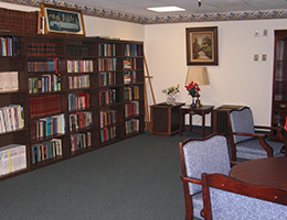 MacArthur library and reading area
