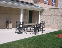 outside seating and furniture