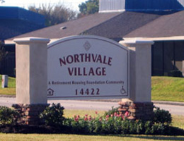 Northvale Village sign